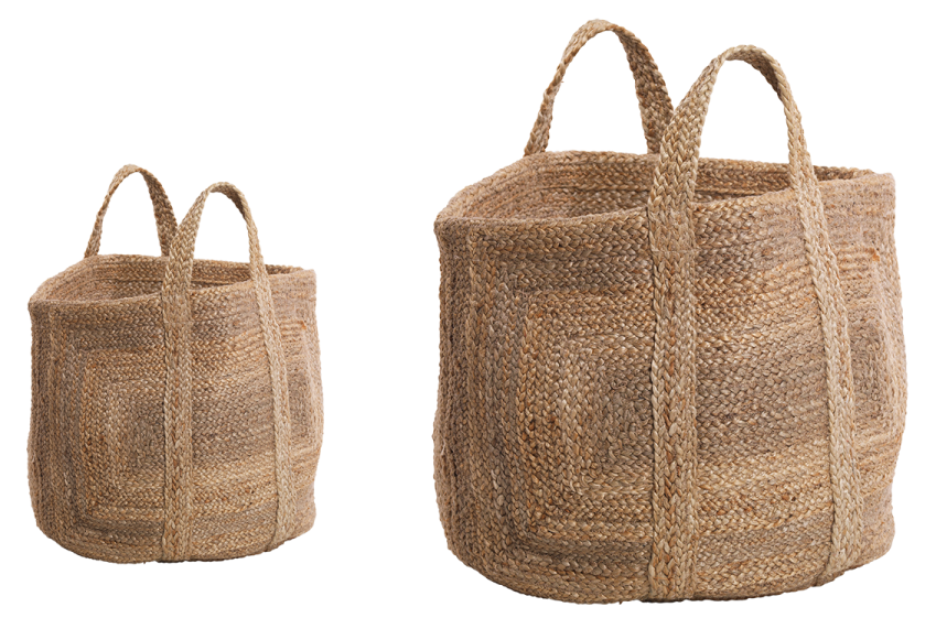 Braided Hemp Storage Basket 1 BH35 WB e1573061199831