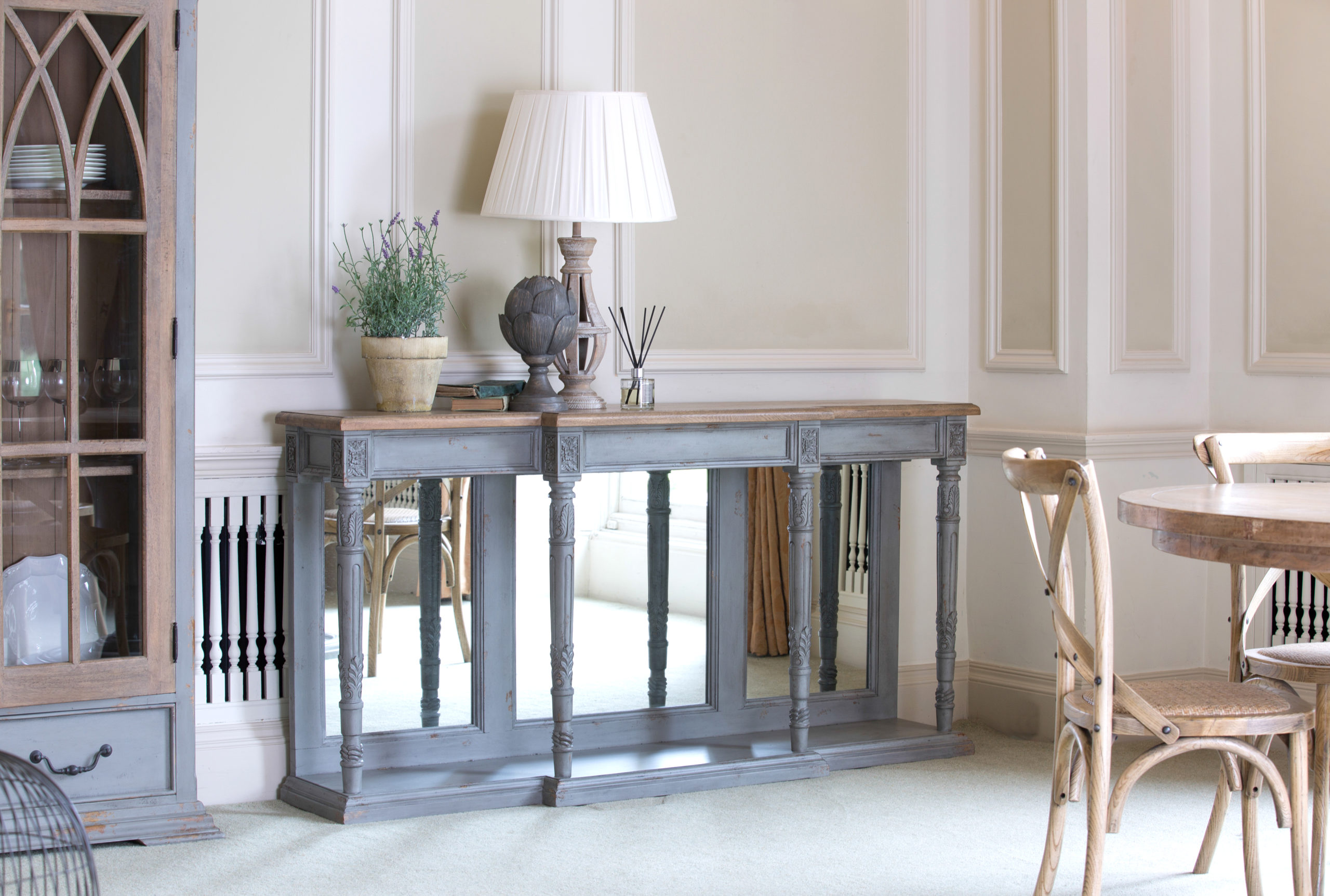 Canterbury Console Table in situ scaled