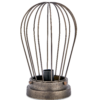 Hubli Caged Lamp Bronze