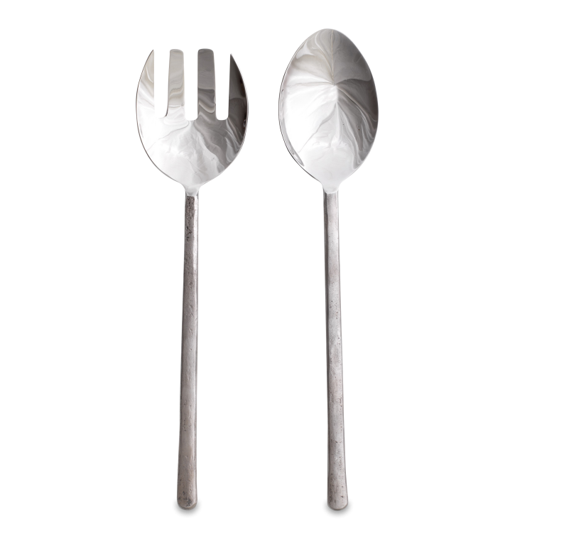 Kaptai Brushed Silver Salad Servers 1 SS05 WB e1573144727671