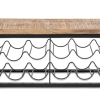 Masoori Wall Hung Wine Rack Shelf 1 OR0201 e1573070229753