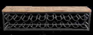 Masoori Wall Hung Wine Rack Shelf 1 OR0201 e1573070229753