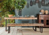 Padra Outdoor Wooden Dining Table 2 OT0701