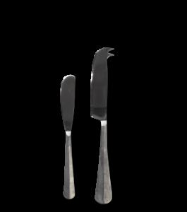 Rezua Cheese Butter Knife Set of 2 Silver 1 OS03 WB e1573149558269