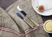 Rezua Chesse   Butter Knife Set of 2 Gold 2 OS04 1