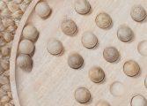 Wooden Solitare Board 3 MS3601
