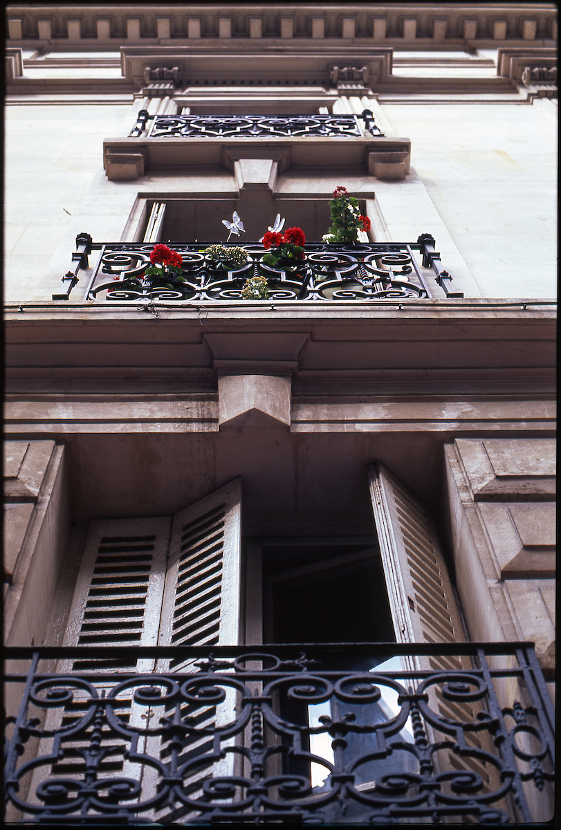Balcony Facade Paris