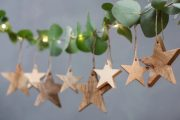 Chana Mango Wood Decorations Stars 4