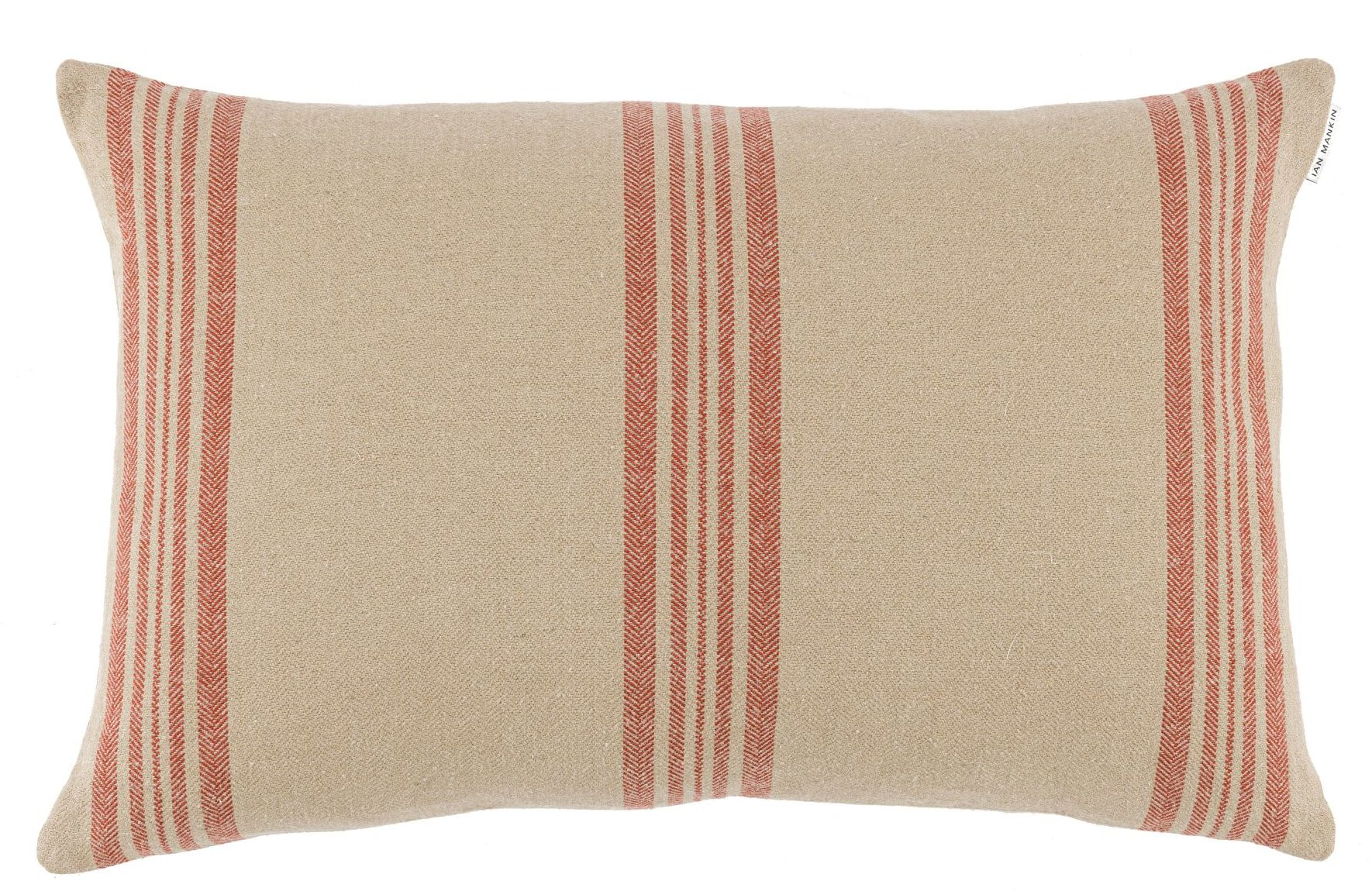 Ian Mankin Landmark 1485 Saddell Stripe Striped Russet Cushion CU279 199