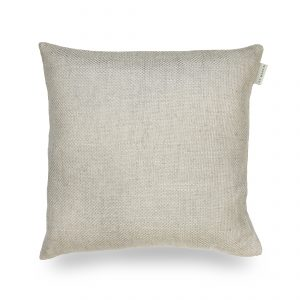 Ian Mankin Perth Light Grey Cushion CU190 104 4040 40x40cm