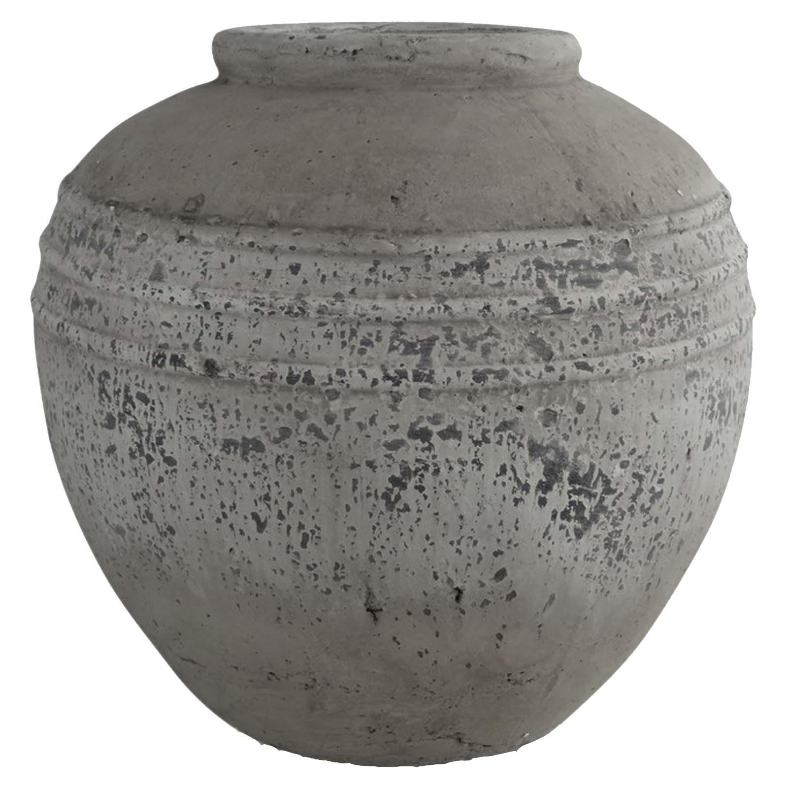 Ludlow Stone Rounded Pot 1 copy