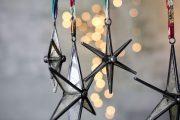 Pakora Antique Zinc Star Set Of 2 4 PS01