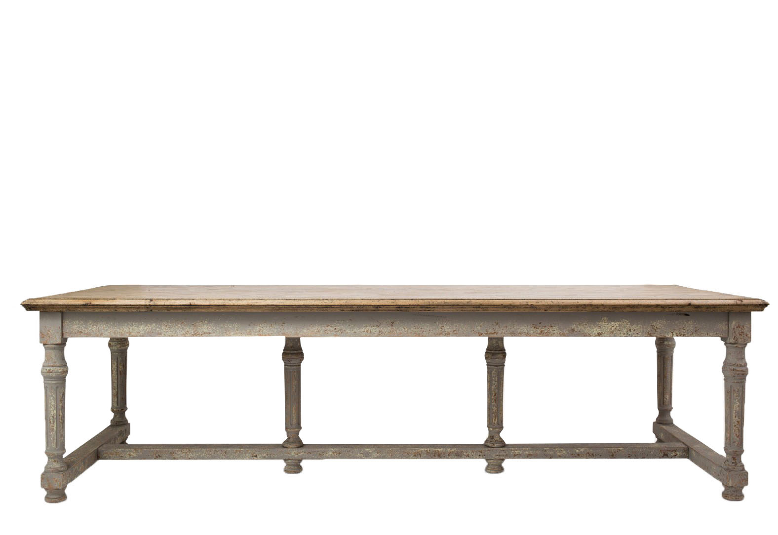Richmond Colonial Grey Oak Dining Table 1 1 e1590488613816
