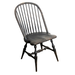 Richmond Distressed Black Windsor Chair 1 copy