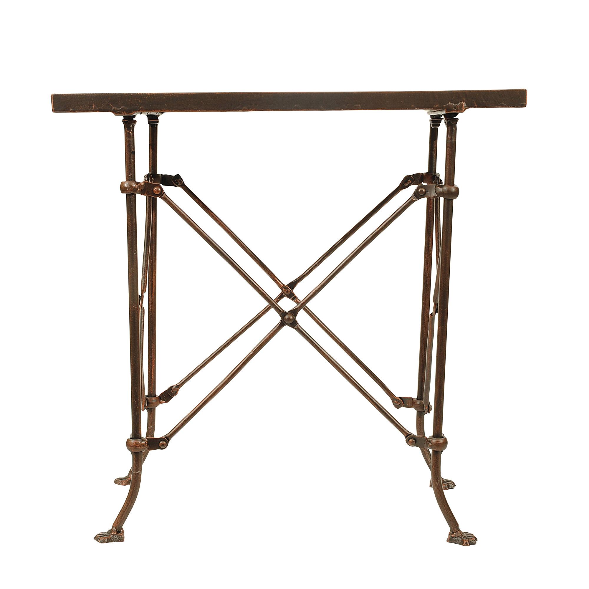 Black Iron Table