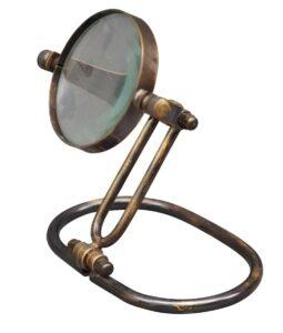 Brass Magnifier Stand