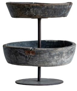 Chirad Tiered Recycled Wood Bowl