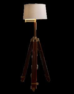 Geometric Tripod Lamp Cutout