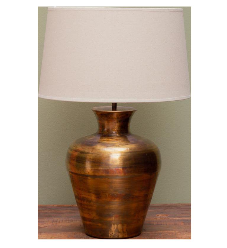 Metal Jar Lamp