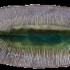 Midori Ridge Oval Plate
