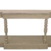 Cheltenham stone top console table with grey base tngs