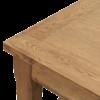 Henley Oak Extending dining table dv