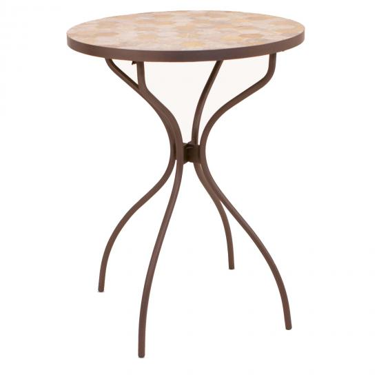 Winchester Mosaic Outdoor Bar Table 1