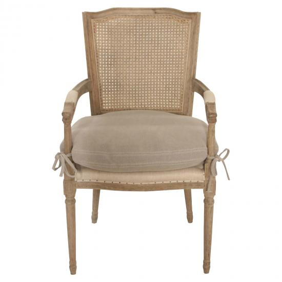 Cheltenham Rock Grey Chair With Arms 1