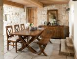 Extending Leg Dining Table in situ Bordeaux 001 scaled