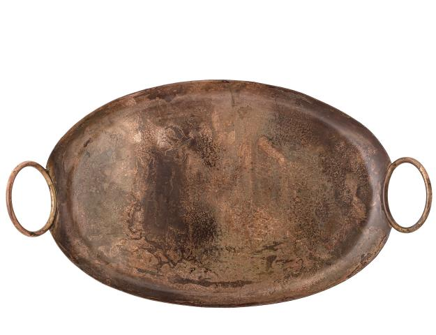 Sage Copper Serving Tray