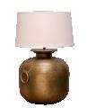 Golden Metal Lamp