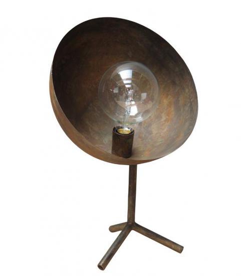 Parabola Rusty Effect Lamp