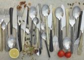 Kasu Cutlery Set of 16 silver 3 OC3201