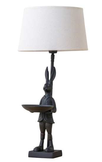 Standing Hare Lamp Cut Out