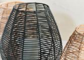 Kashil Wicker Lantern black 4 NL16
