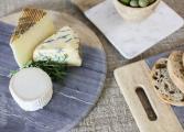 Rukadi Round Marble Board white 5 BB57