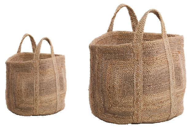 Braided Hemp Storage Basket 1 BH35 WB e1573061199831